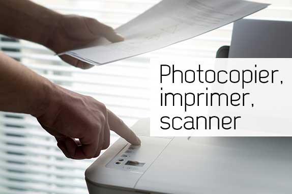 Photocopier, imprimer, scanner