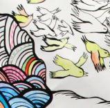 photo d'un partie de la fresque