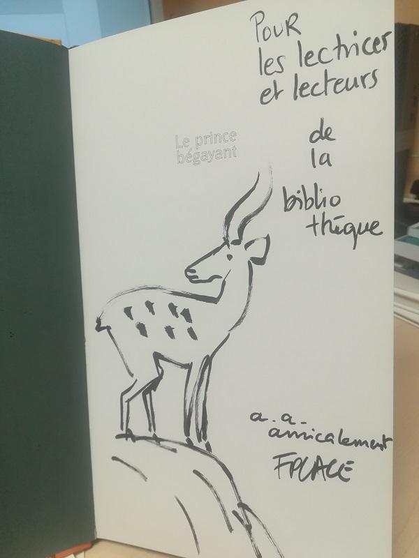 photo dédicace François Place