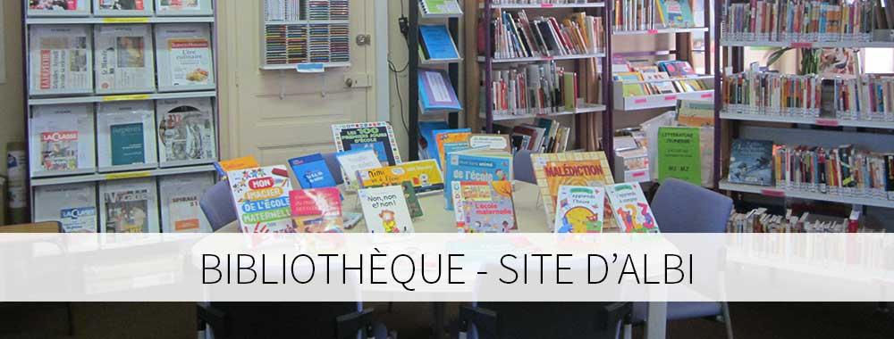 Bibliothèque site d'Albi