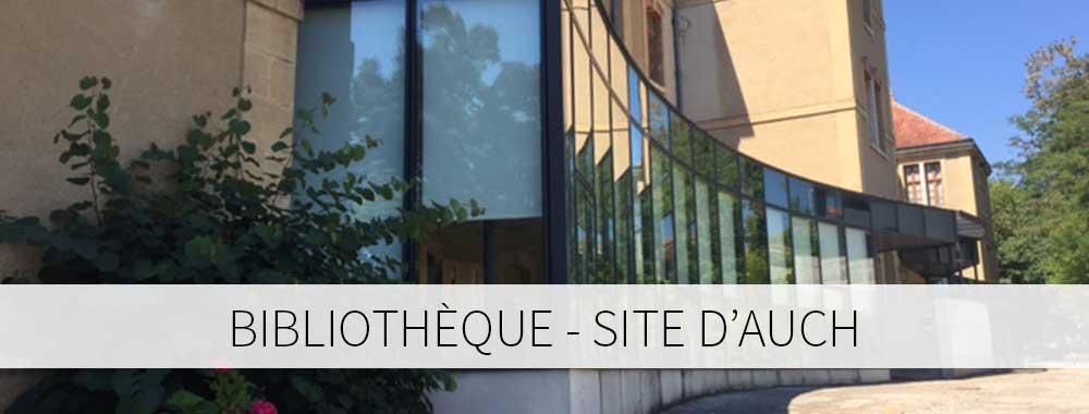 Bibliothèque site d'Auch
