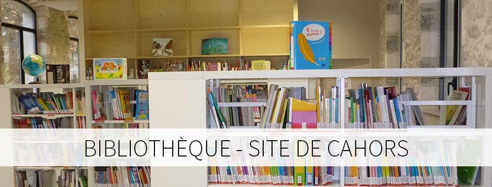 Bibliothèque site de Cahors