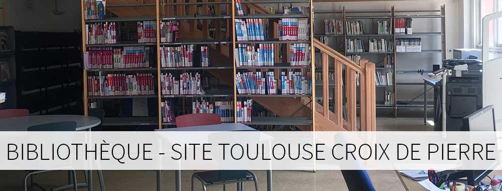 Bibliothèque site de Toulouse Croix de Pierre