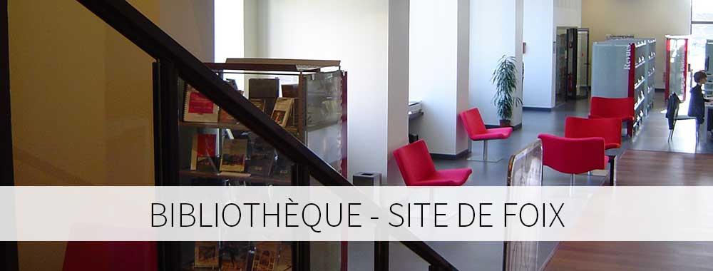 Bibliothèque site de Foix