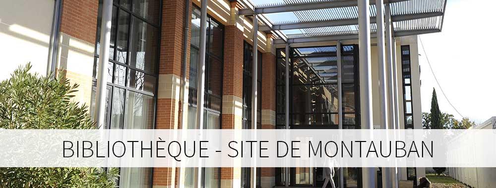 Bibliothèque site de Montauban