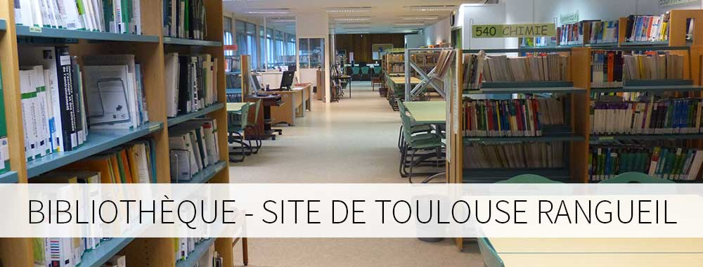 Bibliothèque site de Toulouse Rangueil