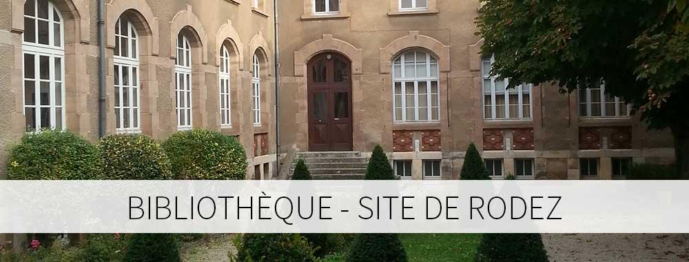 Bibliothèque site de Rodez
