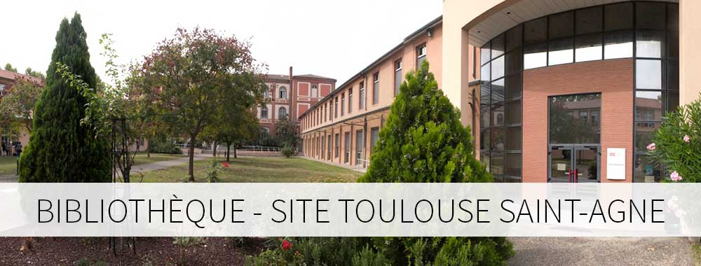 Bibliothèque - site Toulouse Saint-Agne