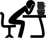 student guy work books source : Pixabay public domain
