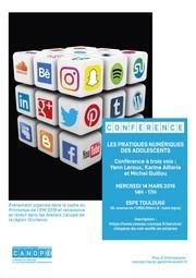 conference Canopé 14 mars